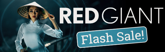Red Giant Flash Sale