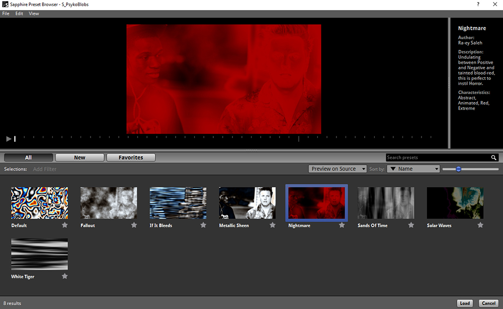 sapphire review microfilmmaker magazine preset browser