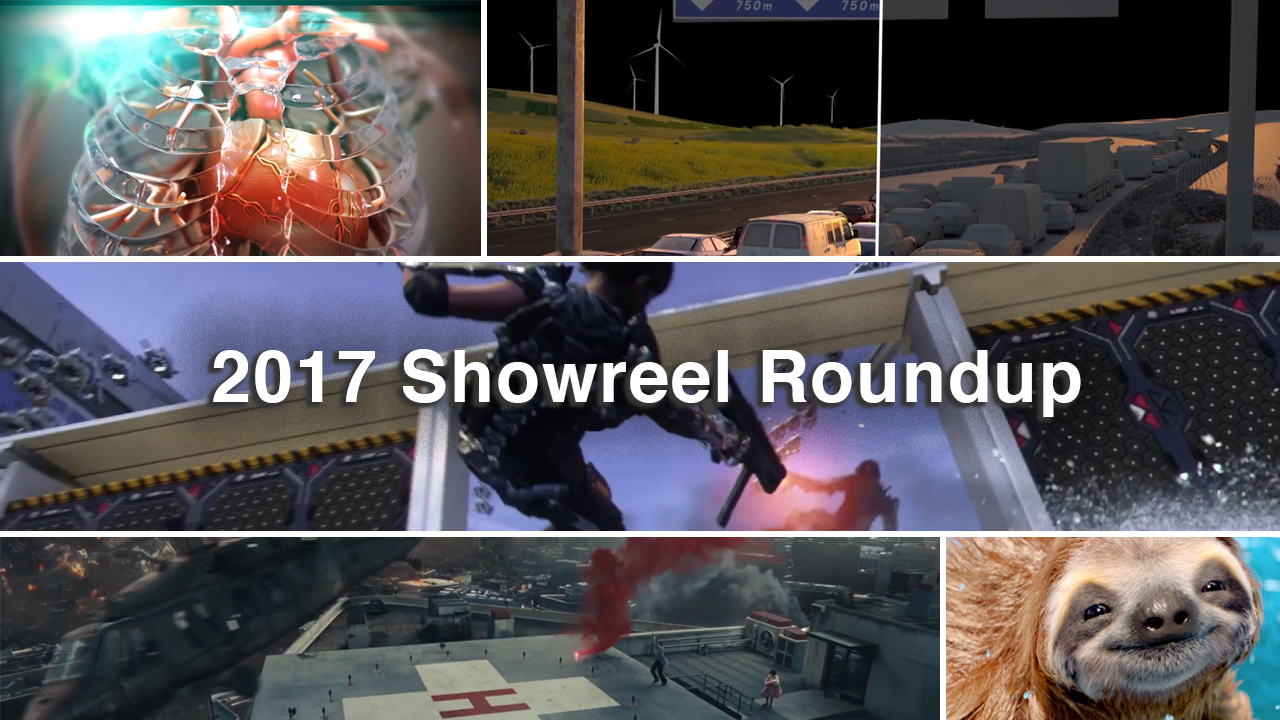 Inspirations: Showreel/Demo Roundup 2017
