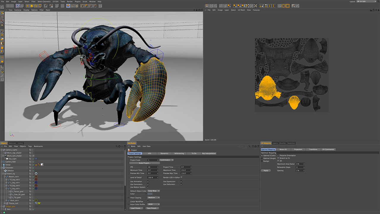 C4D Spotlight: UV Mapping and Unwrap for Maxon Cinema 4D with BodyPaint