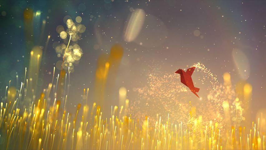 Midweek Motivation: Tennyson – L'oiseau qui danse from Jean-Marie Marbach