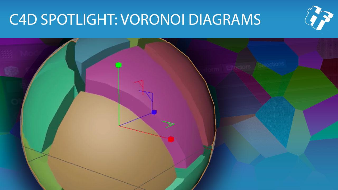 C4D Spotlight: Voronoi Diagrams in Cinema 4D