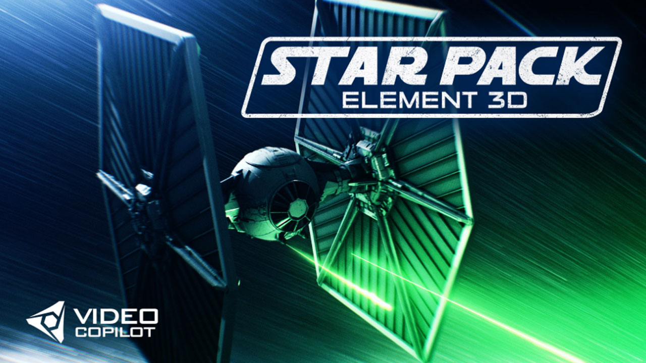Video Copilot Star Pack for Element 3D