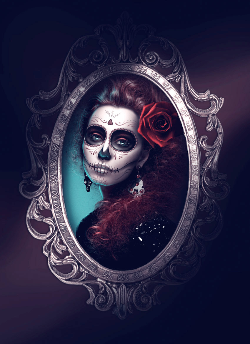 calavera portrait tutorial