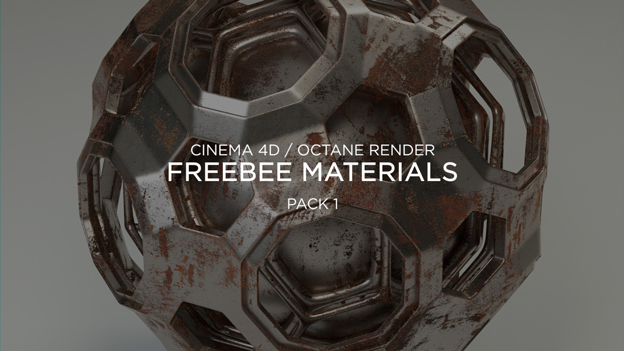Freebie: Cinema 4D and Octane Render Materials Pack
