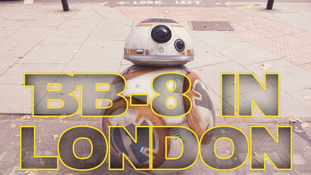 BB-8 in London