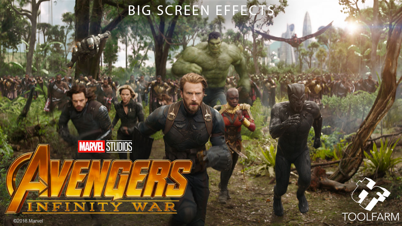 Big Screen Effects: Avengers: Infinity War - Toolfarm