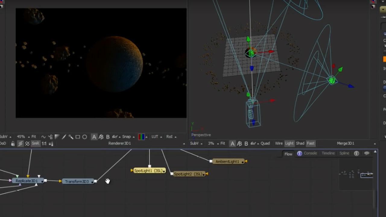 Tutorial: Create a Space Scene Entirely in Blackmagic Design Fusion