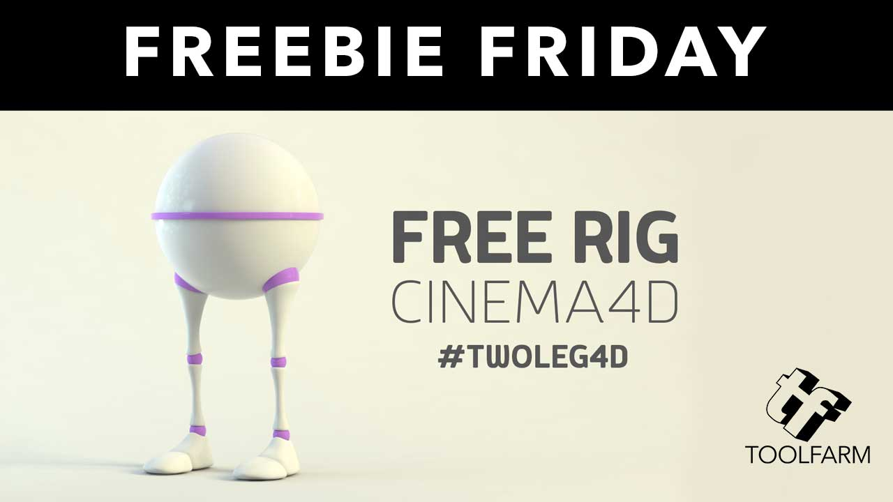 Freebie: TwoLeg4D Free Cinema 4D Character Rig - Toolfarm