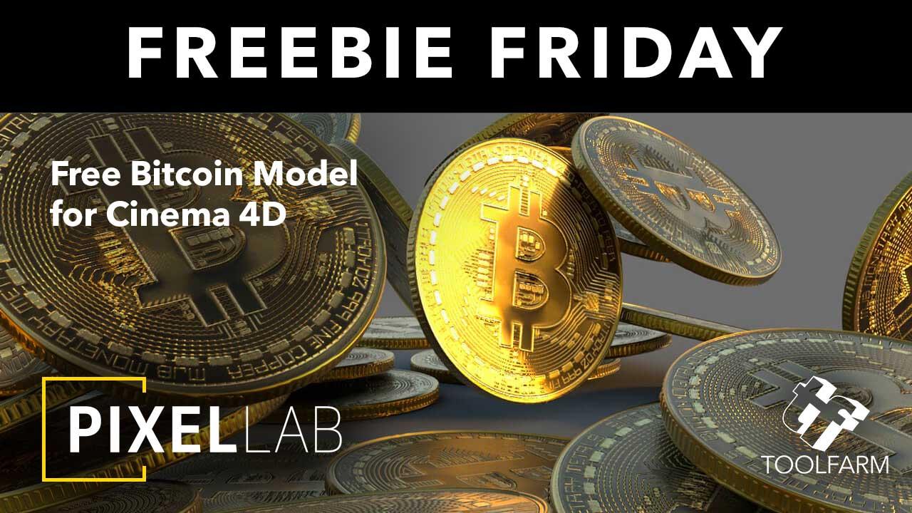 Freebie: Cinema 4D Bitcoin 3D Model - Toolfarm