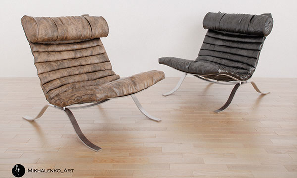 Freebie: 12 Free Furniture Models and 10 Tree Models