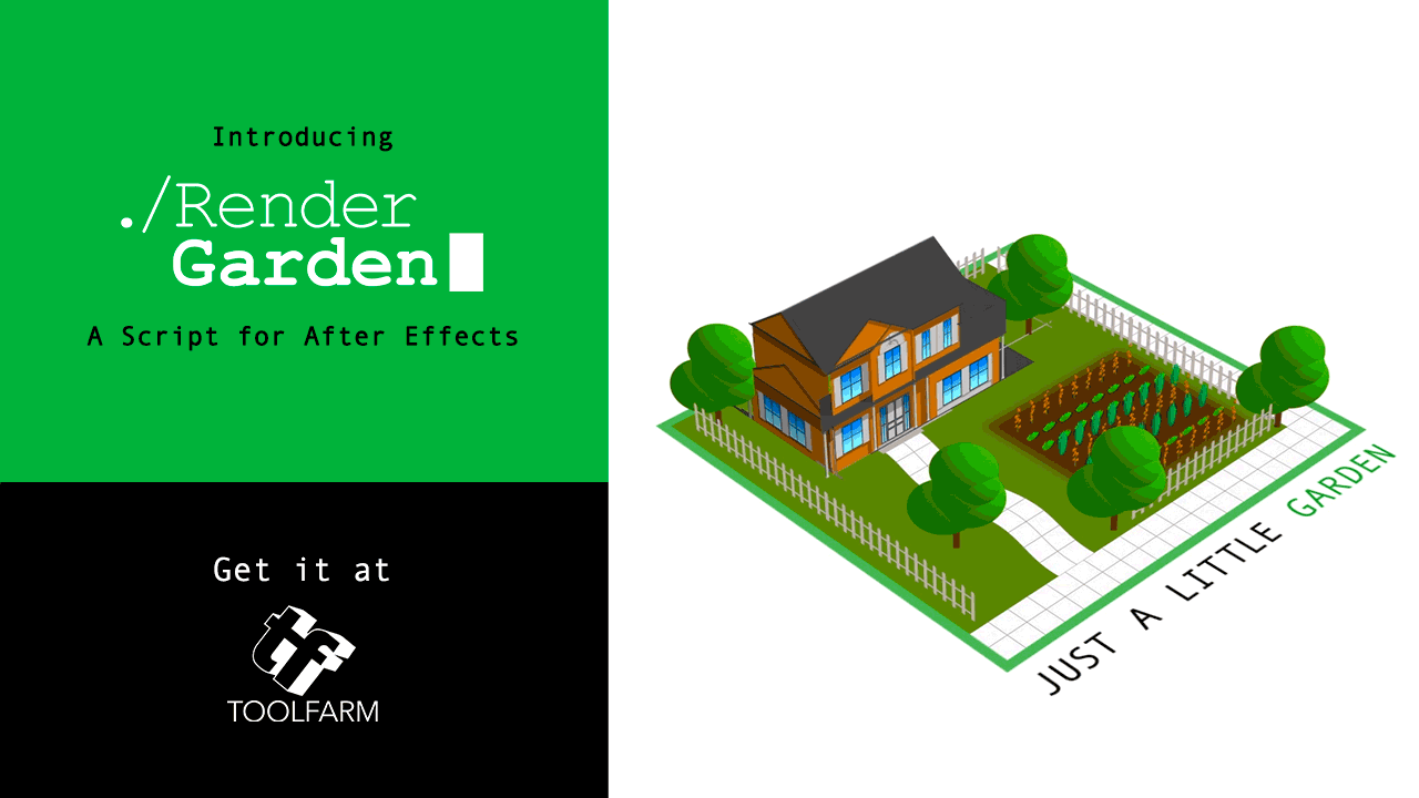 Toolfarm Introduces RenderGarden Plug-in for Dramatically Faster Rendering in Adobe After Effects