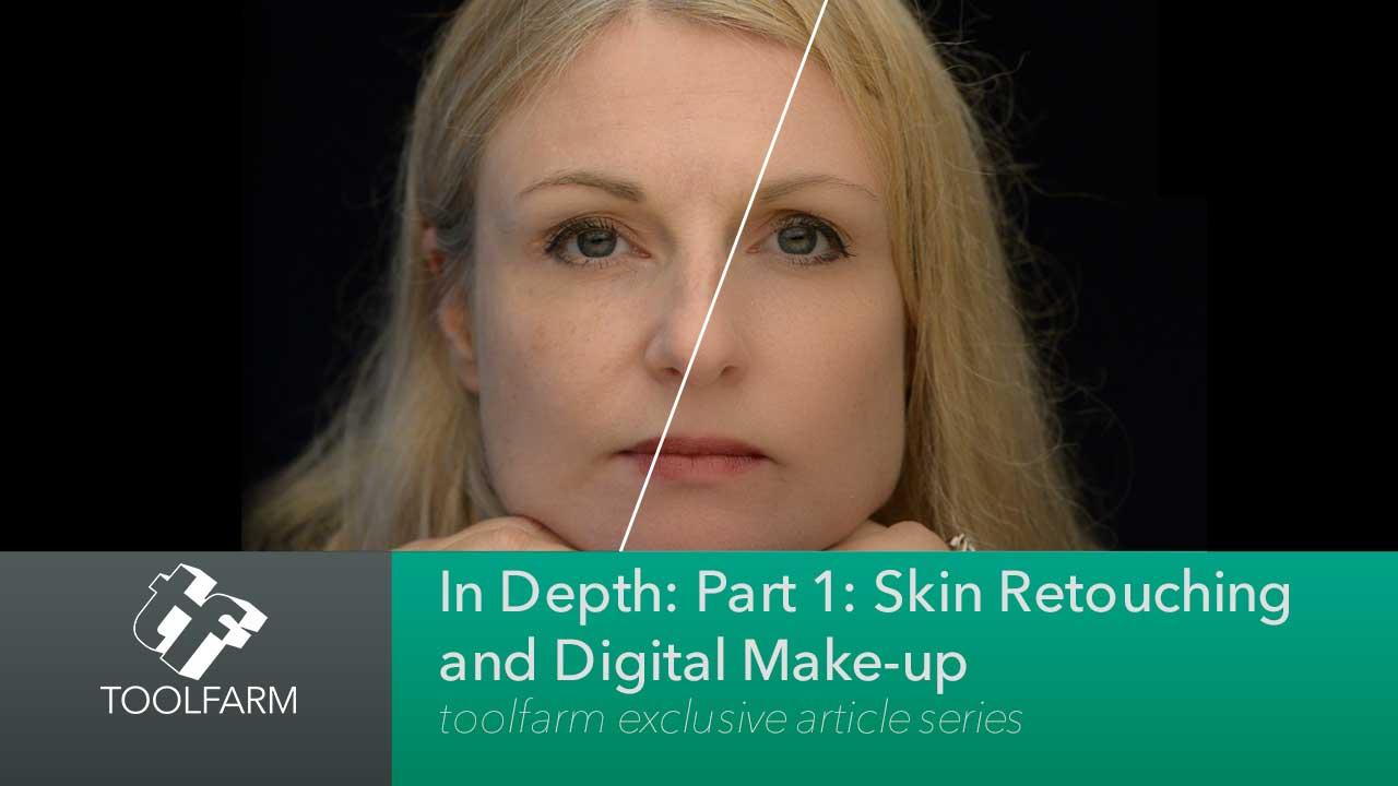 Skin Retouching Digital Makeup