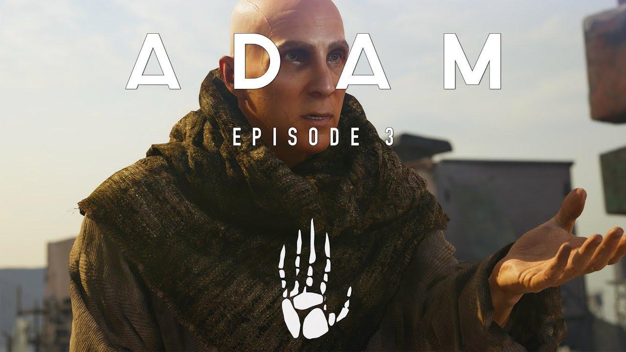 Adam episode 3 photogrammetry example