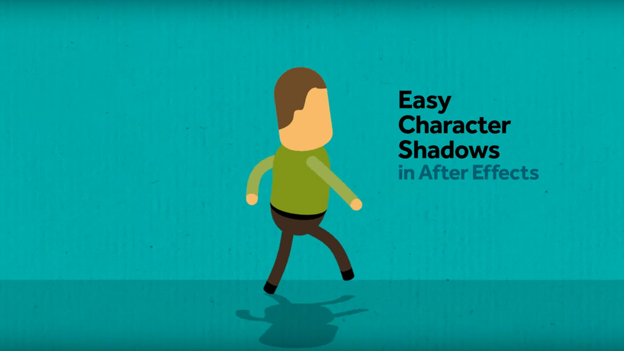 After Effects: Creating Character Shadows