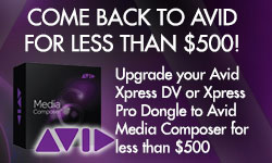 Special Promo: Come back to Avid for less than $500!