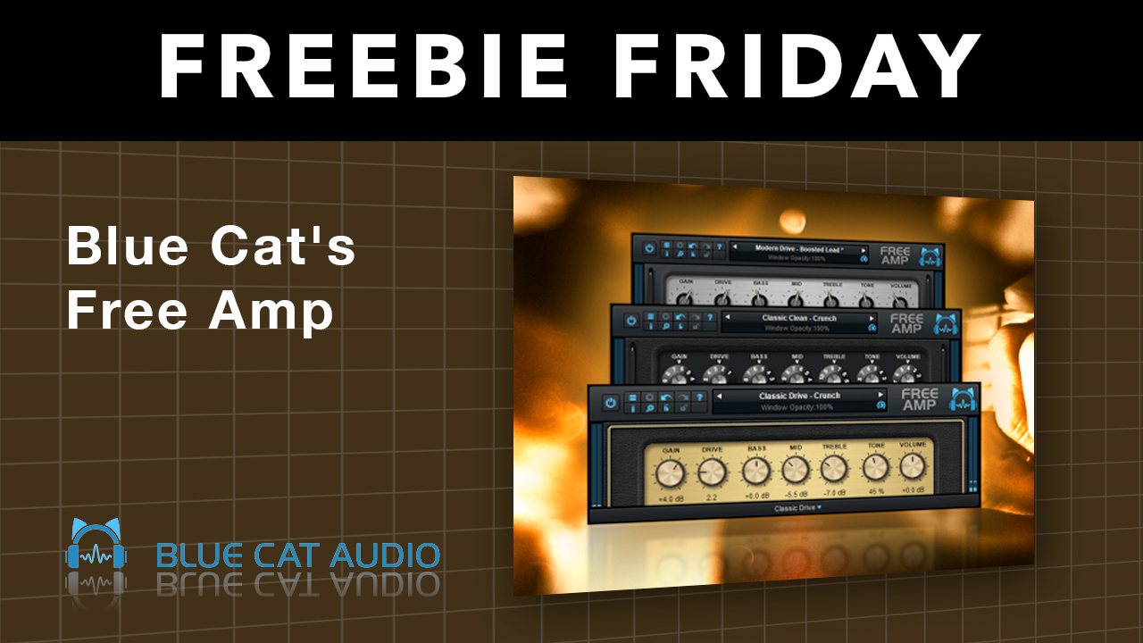 Freebie: Blue Cat Audio: Free Guitar Amp Simulation Plug-in