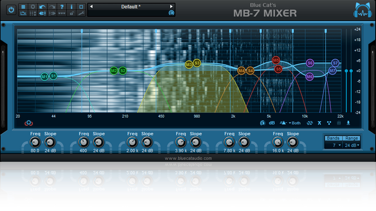 Update: Blue Cat Audio MB-7 Mixer v3.2 – Now with Drag and Drop Support for Plug-ins