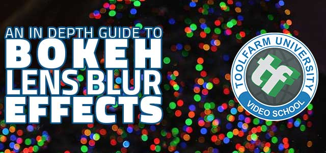 Bokeh Background After Effects Effects Tutorial Bokeh
