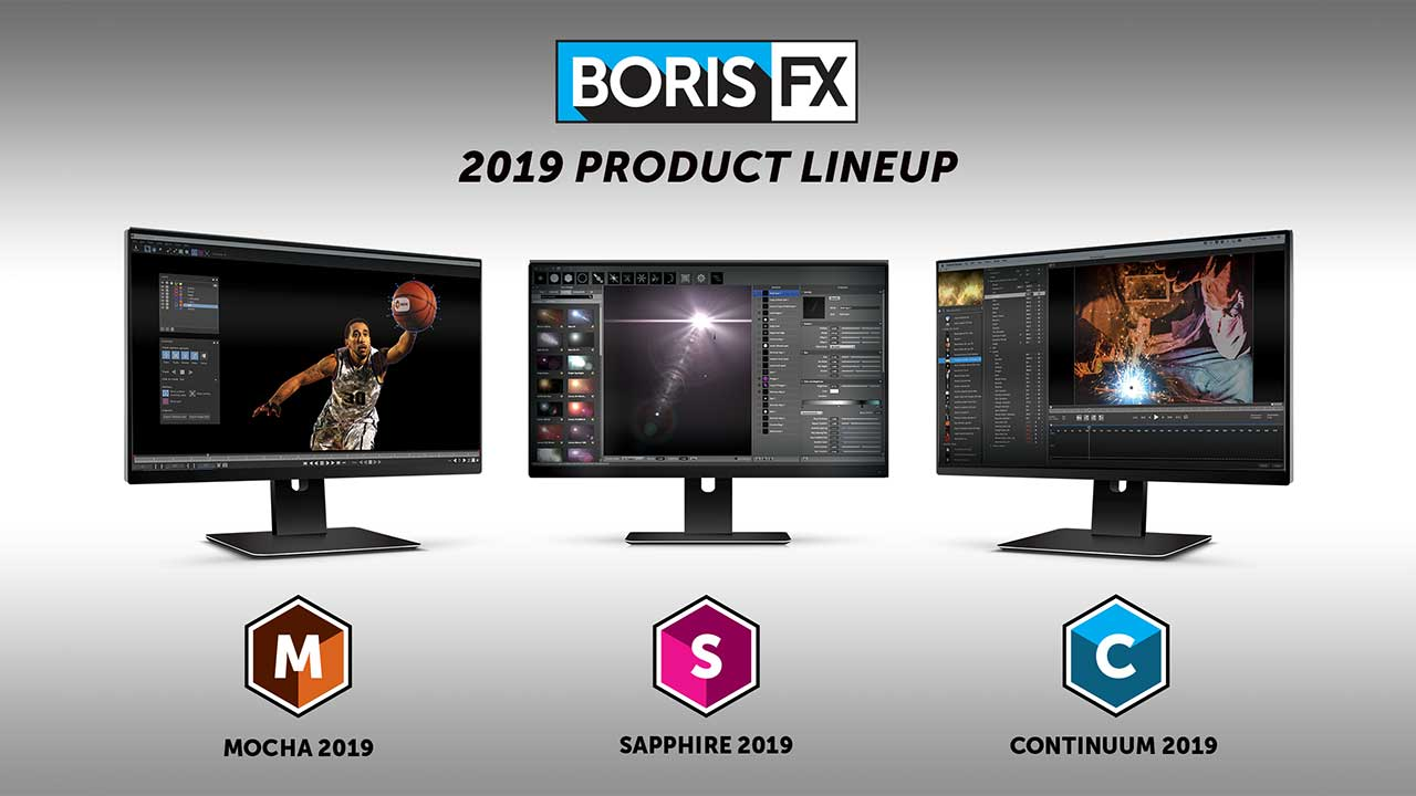 News: Boris FX Showcases New 2019 Versions of the Industry's