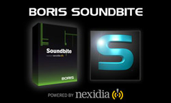 New: Boris Soundbite Adds Support for Adobe Premiere Pro CS5.5 & Apple Final Cut Pro X