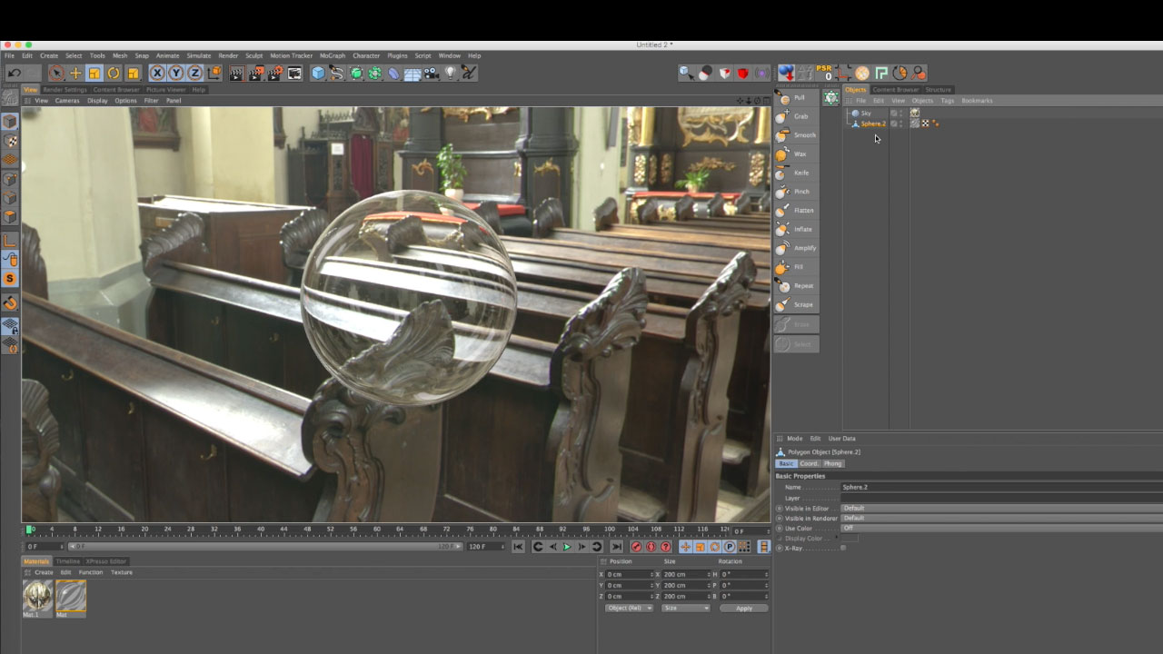 Model a Glass Pitcher in Cinema 4D - Toolfarm
