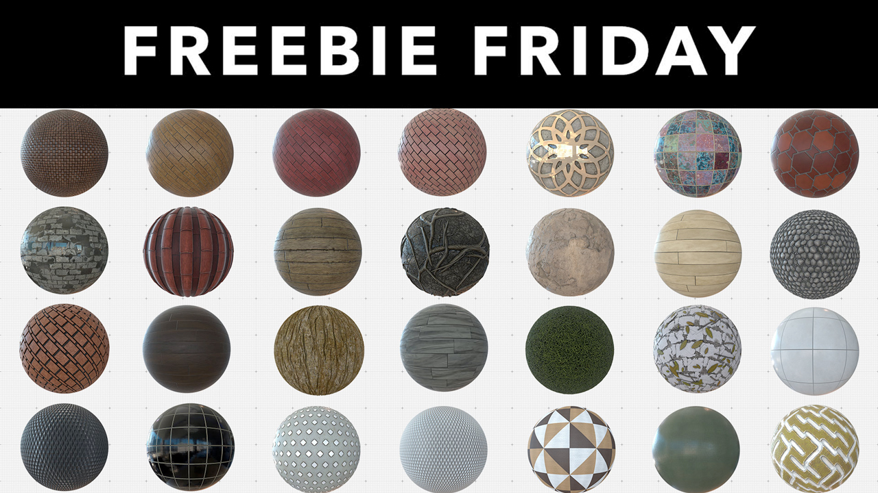Freebie: 2K & 4K Cinema 4D Materials - Toolfarm