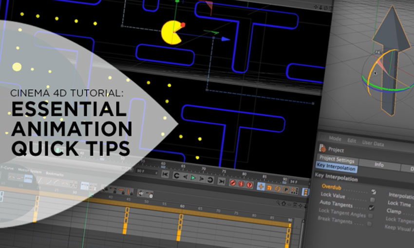 Essential Animation Quick Tips for MAXON Cinema 4D
