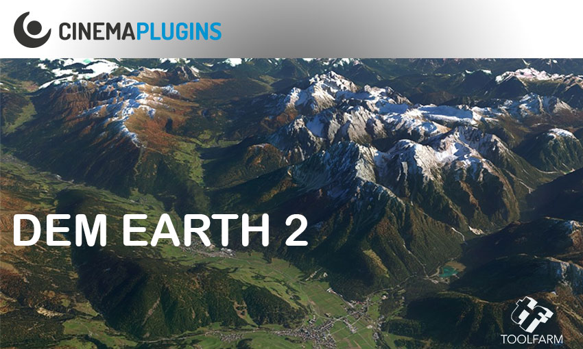 CinemaPlugins DEM Earth Overview Tutorial #gettingstarted