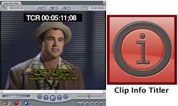 New: Intelligent Assistance Clip Info Titler now at Toolfarm