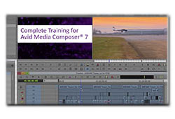 New: Class on Demand Complete Training for Avid Media Composer 7