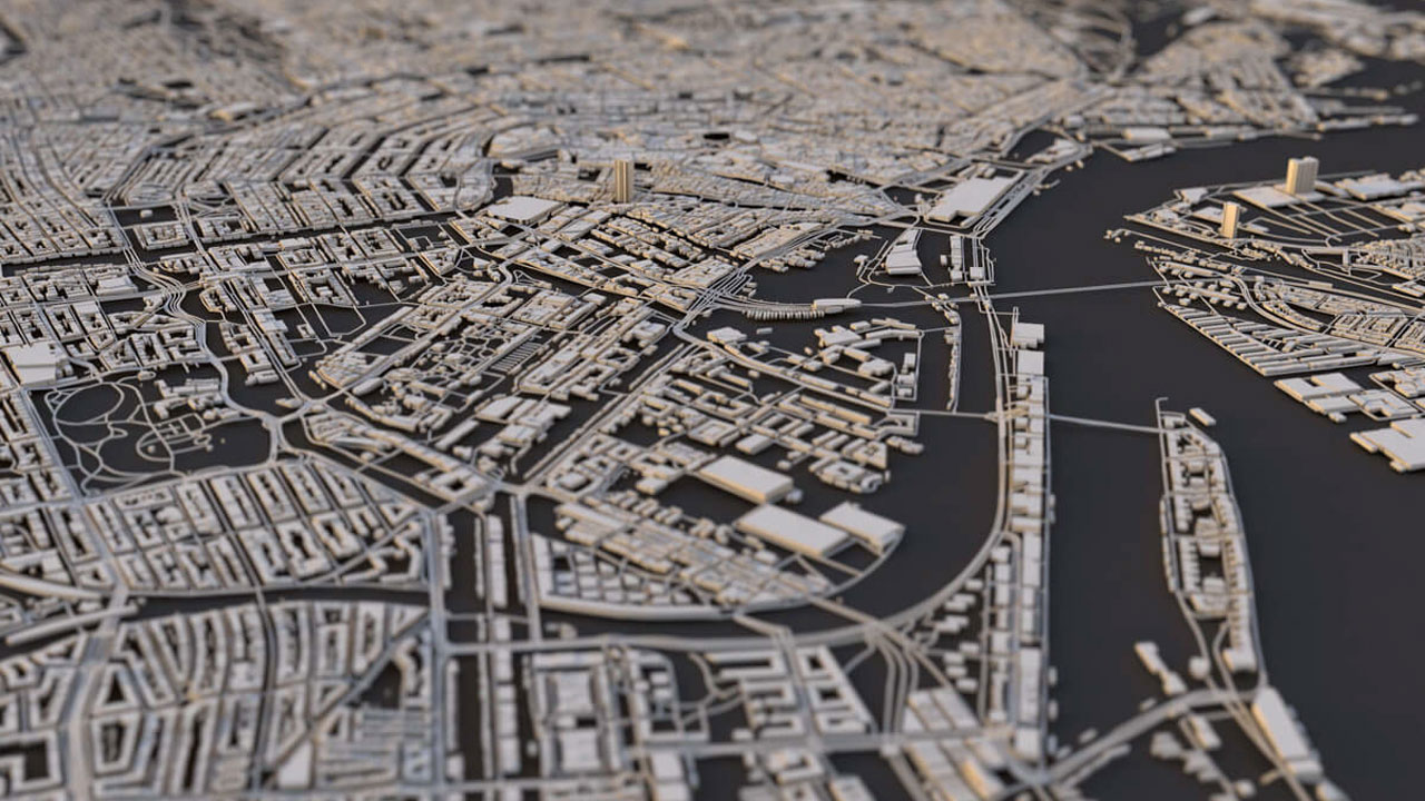 Midweek Motivation: City Layouts Using DEM Earth for CINEMA 4D