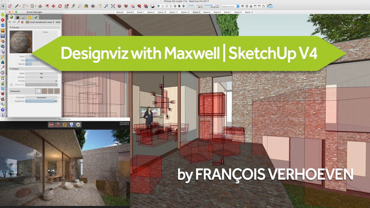 Webinar: Designviz with Maxwell Render for SketchUp