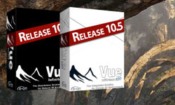 New: e-on Software Vue 10.5 xStream and Infinite Final Release Now Available