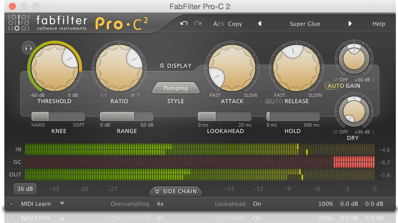 Sale Ending: FabFilter Pro-C 2 - 25% Off - Ends Today March 20, 2017