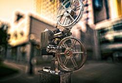 Freebie: Vintage Film Projector