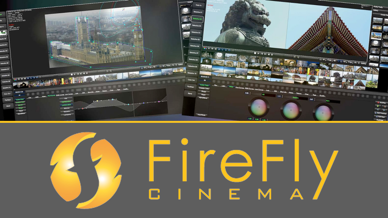 New: Firefly Cinema Color Grading Solutions are now available at Toolfarm