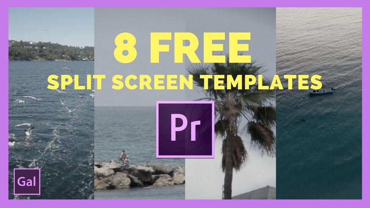Freebie: Premiere Pro: Free Split Screen Templates - Toolfarm