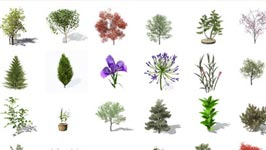 Freebies: 130 Free 3D Plant and Tree Models from Xfrog