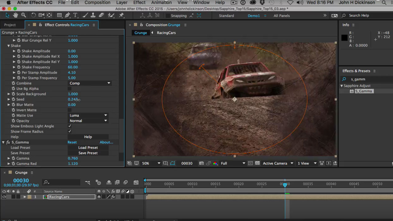 GenArts Sapphire - Create Edgy Video Effects with S_Grunge - Toolfarm