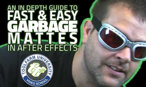 In Depth: Fast and Easy Garbage Mattes in After Effects
