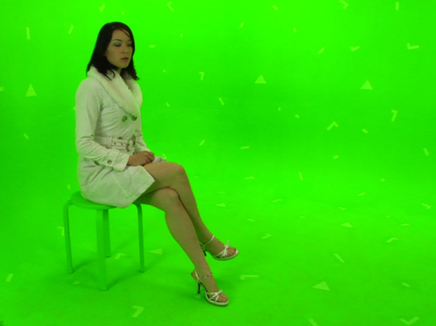 how to remove green screen