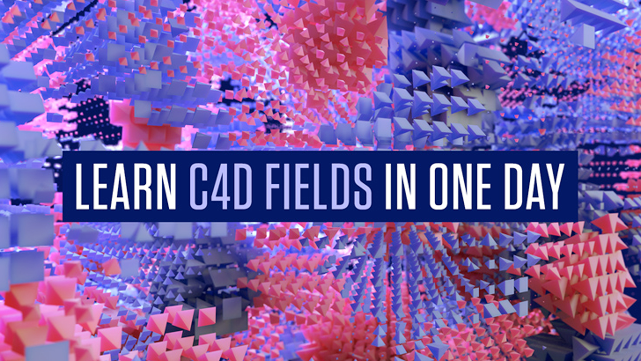New: helloluxx learn.Cinema 4D Fields in One Day is Now Available