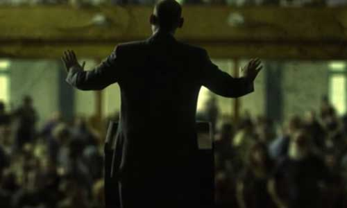 Inspirations: House of Cards intro in the style of Walking Dead
