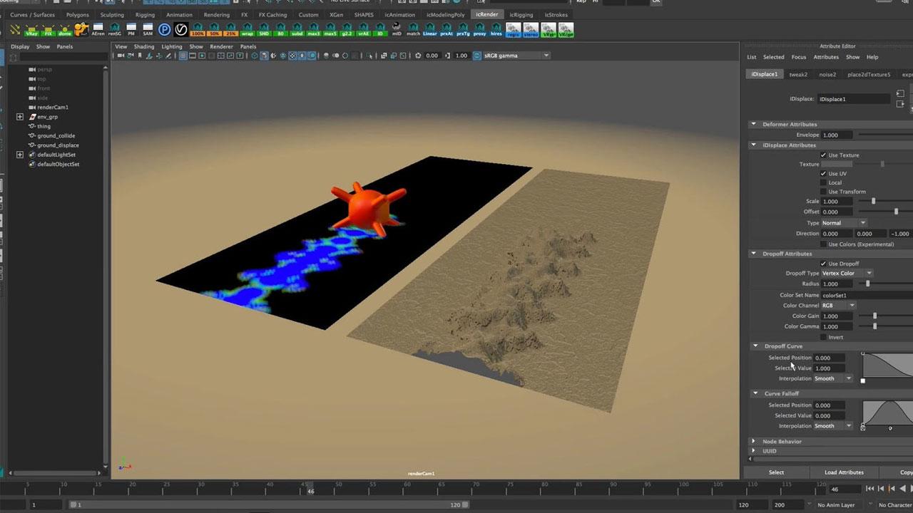 Tutorial: iDeform v1 3 for Autodesk Maya - Toolfarm