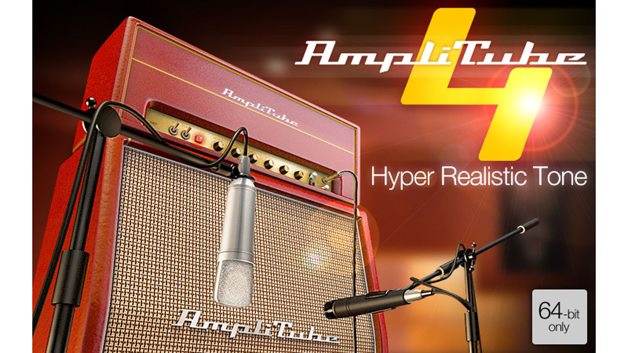 New: IK Multimedia AmpliTube 4 is now available