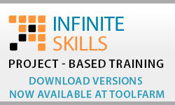 New: Infinite Skills Training at Toolfarm: Training for Adobe, Maxon, Apple, Autodesk and More