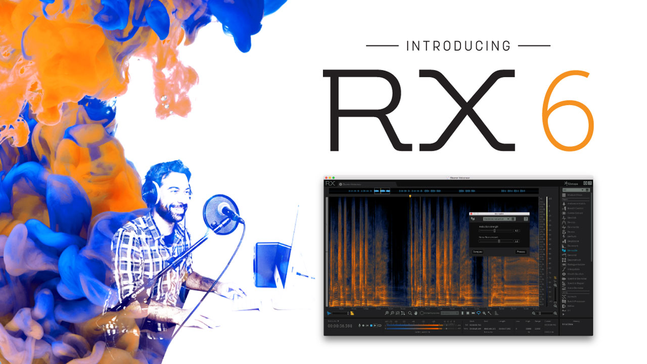 Tutorial: iZotope: RX 6 Practice Audio Files & Sessions | Learn Audio Repair with RX