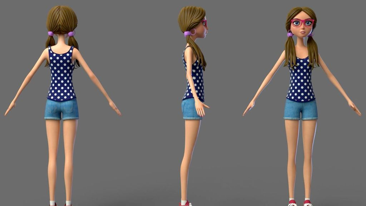 3d max rigged character free download