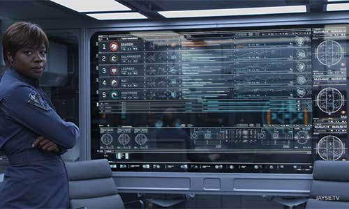 Inspirations: Ender's Game GUI/Holograph Reel with Breakdown of VFX